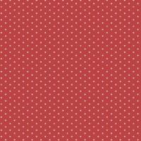 Edyta Sitar ' Sweet 16' Rood kleine sterretjes