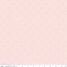 Riley Blake, Charmed, witte kruisjes op roze