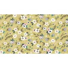 Riley Blake, Splendor, geel bloemetjes