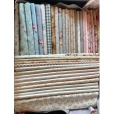 Stoffen pakket Claudine's Quilt 'Dorry Sweet' - lichte stoffen