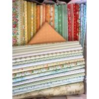 Stoffen pakket Claudine's Quilt 'Fris pastel'