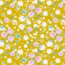 Tilda 'Apple Butter' geel bloemetje