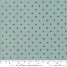 Bunny Hill Design ' 101 Maple Street' blauw met grijze polka dot