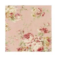 Lecien, Durham Quilt collection, roze grote bloem