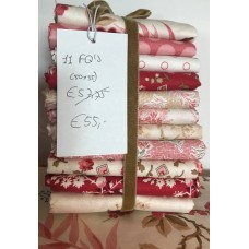 Edyta Sitar ' Little Sweethearts' Fat Quarter Bundel