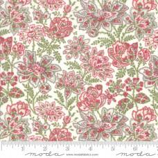 Moda, 3 Sisters ' Rue 1800' creme bloem multi