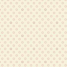 Edyta Sitar ' Little Sweethearts' creme roze cirkels