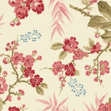 Edyta Sitar ' Little Sweethearts' bloemen op creme ondergrond