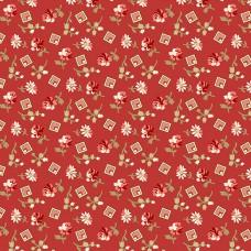 Edyta Sitar ' Little Sweethearts' rood bloem blokje