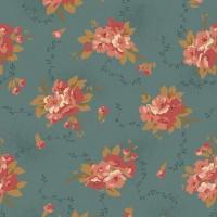 Andover, Bed of Roses,  Edyta Sitar, blauw roze bloem