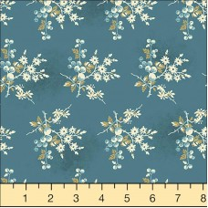 Andover, Edyta Sitar, Something Blue, blauw met bloemen