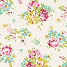 Tilda 'Apple Butter' Creme kleine bloemen