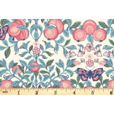 Liberty of London ' Fruit Silhouette' Fruit bladeren