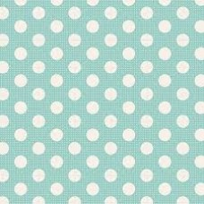 Tilda 'Basics' Aqua medium dots