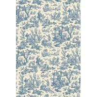 Toile du Jouy, mini print blauw
