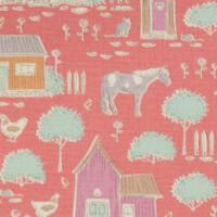 Tilda 'Tiny Farm' boerderijen en schuren roze