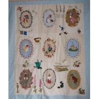 Beatrix Potter applicatie quilt cursus NIEUWE DATA